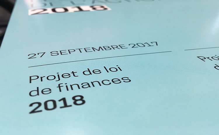 Principales mesures fiscales du projet de Loi de finances 2018 (France)