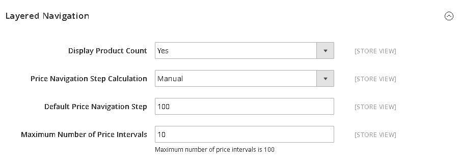 Comment configurer le filtre de prix_Navigation des prix dans Magento 2 (3)