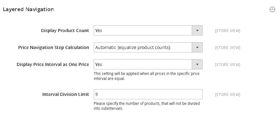Comment configurer le filtre de prix_Navigation des prix dans Magento 2 (2)